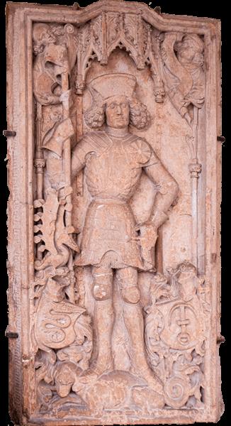 Nagrobnik Friderika IX. Ptujskega okrog 1438
